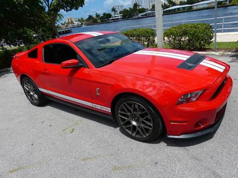 2012 Ford Shelby GT500 for sale at Silva Auto Sales in Pompano Beach FL