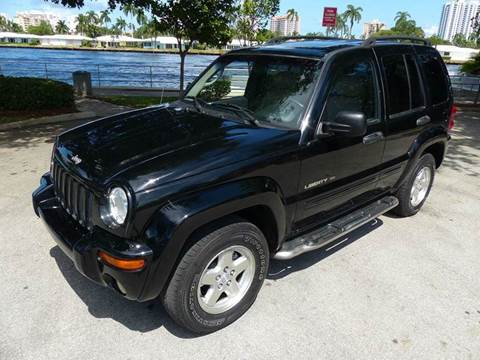 2002 Jeep Liberty for sale at Silva Auto Sales in Pompano Beach FL