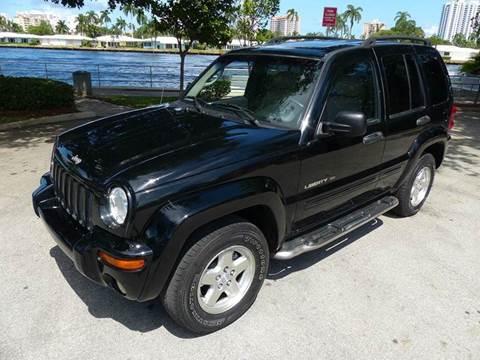 2002 Jeep Liberty for sale at Silva Auto Sales in Pompano Beach FL