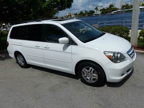 2007 Honda Odyssey for sale at Silva Auto Sales in Pompano Beach FL