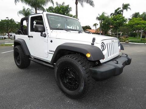 2013 Jeep Wrangler for sale at Silva Auto Sales in Pompano Beach FL