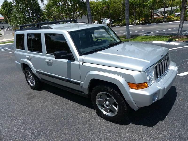 2007 Jeep Commander for sale at Silva Auto Sales in Pompano Beach FL