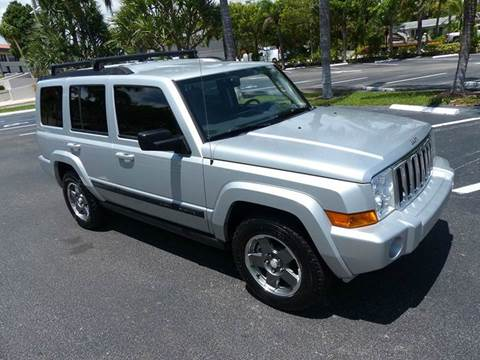2007 Jeep Commander for sale at Silva Auto Sales in Pompano Beach FL