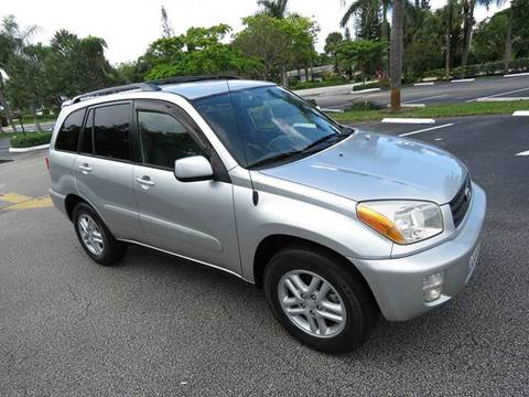 2002 Toyota RAV4 for sale at Silva Auto Sales in Pompano Beach FL