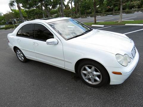 2004 Mercedes-Benz C-Class for sale at Silva Auto Sales in Pompano Beach FL