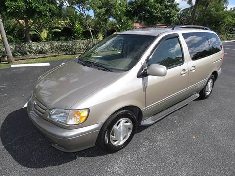 2003 Toyota Sienna for sale at Silva Auto Sales in Pompano Beach FL