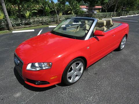 2008 Audi A4 for sale at Silva Auto Sales in Pompano Beach FL