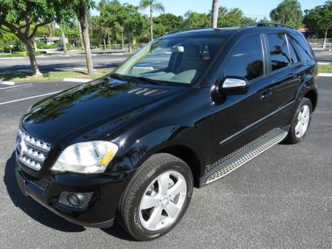 2009 Mercedes-Benz M-Class for sale at Silva Auto Sales in Pompano Beach FL