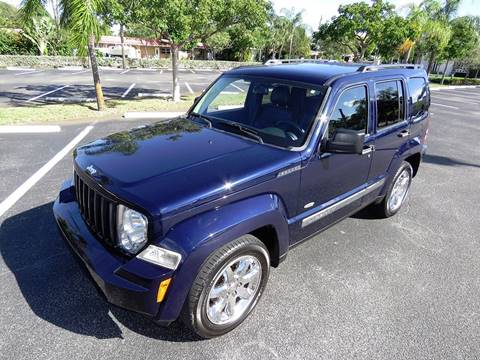 2012 Jeep Liberty for sale at Silva Auto Sales in Pompano Beach FL