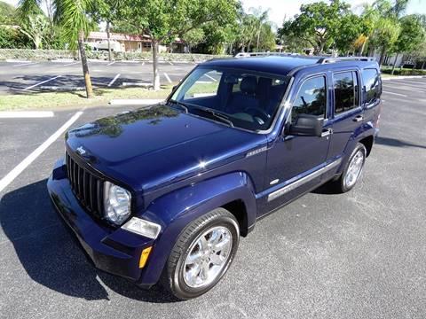 2012 Jeep Liberty for sale at Silva Auto Sales in Pompano Beach FL