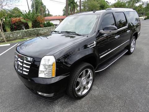 2007 Cadillac Escalade ESV for sale in Pompano Beach, FL