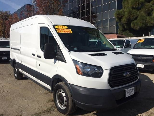 9ee5251e01e2fd 2018 Ford Transit Cargo 250 3dr LWB Medium Roof Cargo Van w Sliding  Passenger Side Door