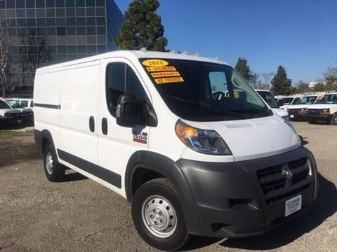 2018 RAM ProMaster Cargo for sale in Garden Grove, CA