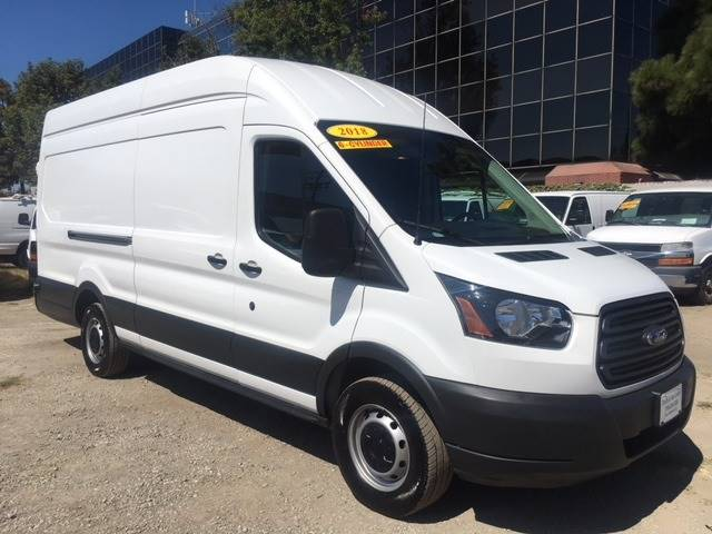 ac9d4e155f 2018 Ford Transit Cargo 250 3dr LWB High Roof Extended Cargo Van w Sliding  Passenger Side Door