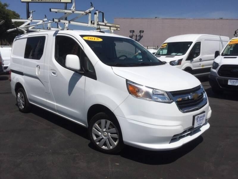 2015 Chevrolet City Express Cargo for sale at Auto Wholesale Company in Santa Ana CA