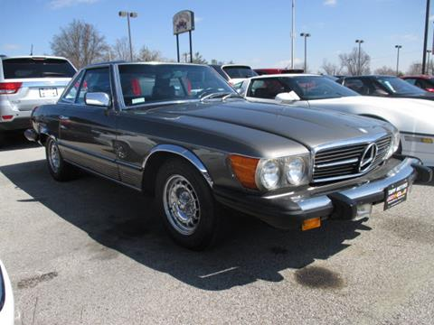1976 Mercedes-Benz 450 SL for sale at TAPP MOTORS INC in Owensboro KY