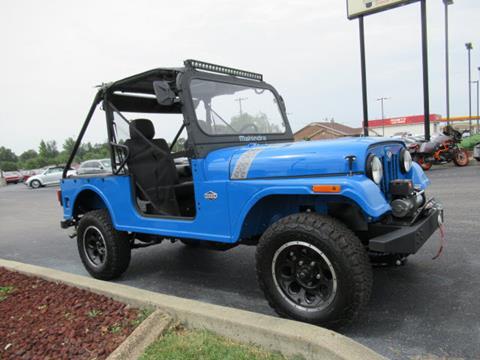 2018 Mahindra Roxor for sale at TAPP MOTORS INC in Owensboro KY