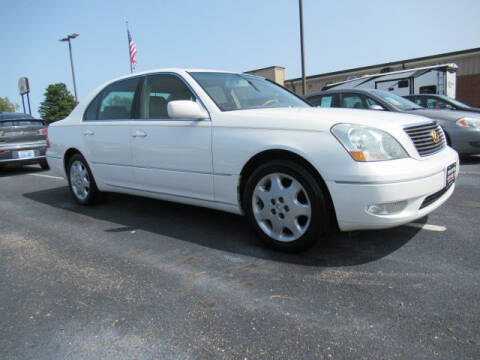 2001 Lexus LS 430 for sale at TAPP MOTORS INC in Owensboro KY