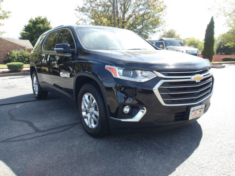 2018 Chevrolet Traverse for sale at TAPP MOTORS INC in Owensboro KY