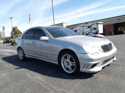 2003 Mercedes-Benz C-Class for sale at TAPP MOTORS INC in Owensboro KY