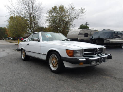 1987 Mercedes-Benz 560-Class for sale at TAPP MOTORS INC in Owensboro KY