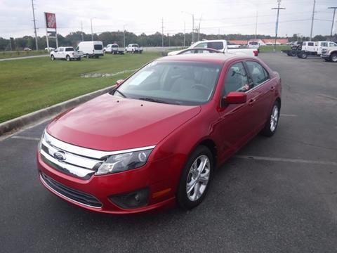 2012 Ford Fusion for sale in Scottsboro, AL