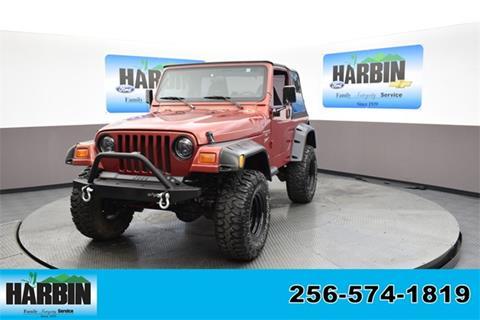 1999 Jeep Wrangler for sale in Scottsboro, AL