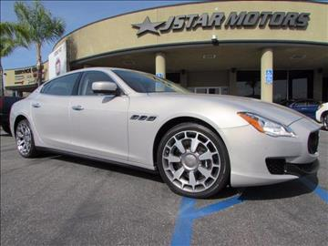 2014 Maserati Quattroporte for sale in Anaheim, CA