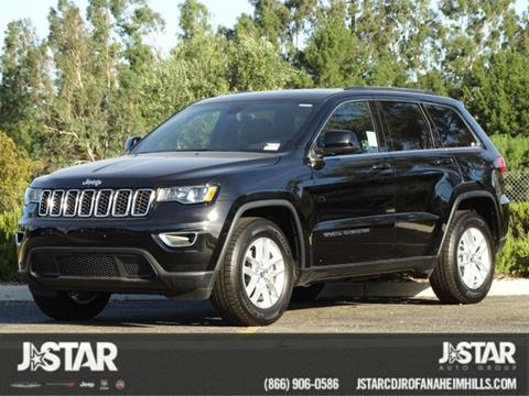 2017 Jeep Grand Cherokee for sale in Anaheim, CA