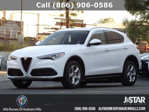 2018 Alfa Romeo Stelvio for sale in Anaheim, CA