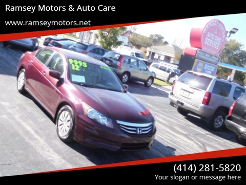 2012 Honda Accord for sale in Milwaukee, WI