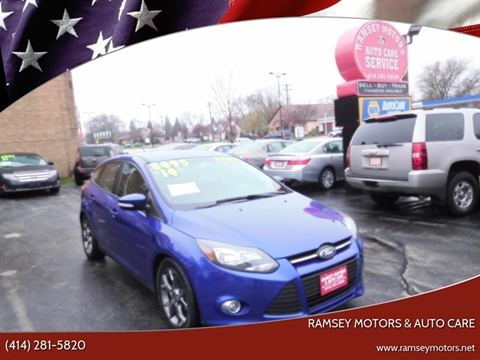 2014 Ford Focus for sale at Ramsey Motors & Auto Care in Milwaukee WI