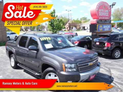 2011 Chevrolet Avalanche for sale at Ramsey Motors & Auto Care in Milwaukee WI
