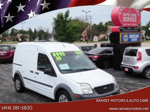2010 Ford Transit Connect for sale at Ramsey Motors & Auto Care in Milwaukee WI