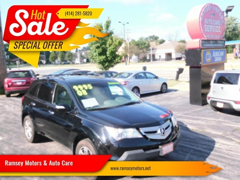 2008 Acura MDX for sale at Ramsey Motors & Auto Care in Milwaukee WI