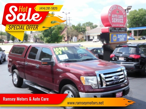Trucks For Sale In Wi >> 2009 Ford F 150 For Sale In Milwaukee Wi