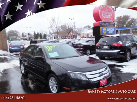 2010 Ford Fusion for sale at Ramsey Motors & Auto Care in Milwaukee WI