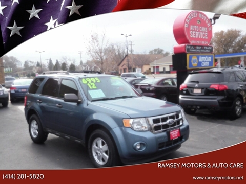 2012 Ford Escape for sale at Ramsey Motors & Auto Care in Milwaukee WI