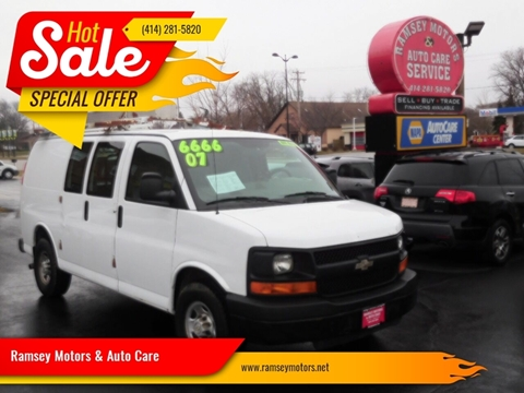 2007 Chevrolet Express Cargo for sale at Ramsey Motors & Auto Care in Milwaukee WI