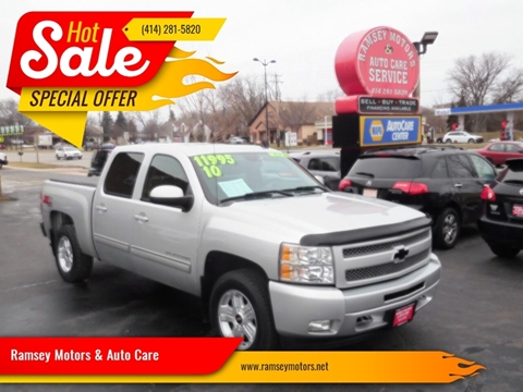 2010 Chevrolet Silverado 1500 for sale at Ramsey Motors & Auto Care in Milwaukee WI