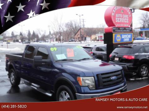 2009 Ford F-150 for sale at Ramsey Motors & Auto Care in Milwaukee WI