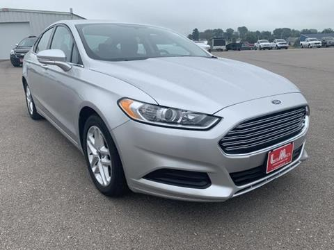 2016 Ford Fusion for sale in Lancaster, WI