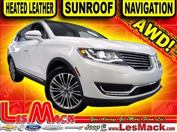 2016 Lincoln MKX for sale in Lancaster, WI