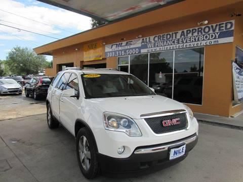 2010 GMC Acadia for sale in Denver, CO