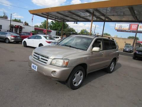 2005 Toyota Highlander for sale in Denver, CO