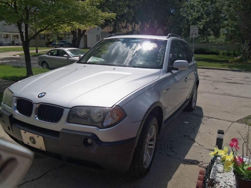 2004 BMW X3 for sale at Mastro Motors in Garden City MI