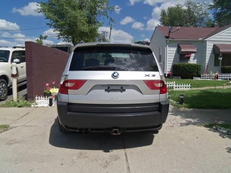 2004 Bmw X3 AWD 3.0i 4dr SUV In Garden City MI - Al\'s Linc Merc Inc.