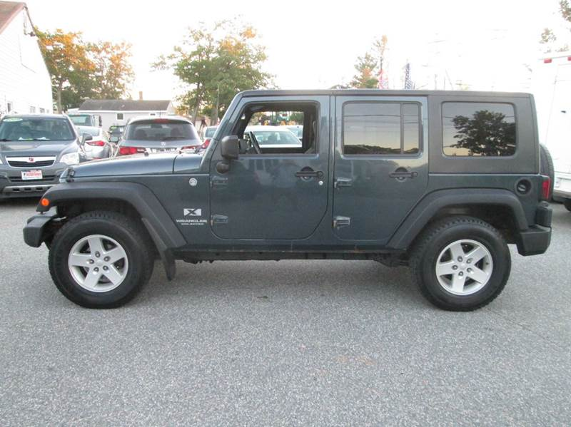 2007 jeep wrangler unlimited 4x4 x 4dr suv in lowell ma. Black Bedroom Furniture Sets. Home Design Ideas