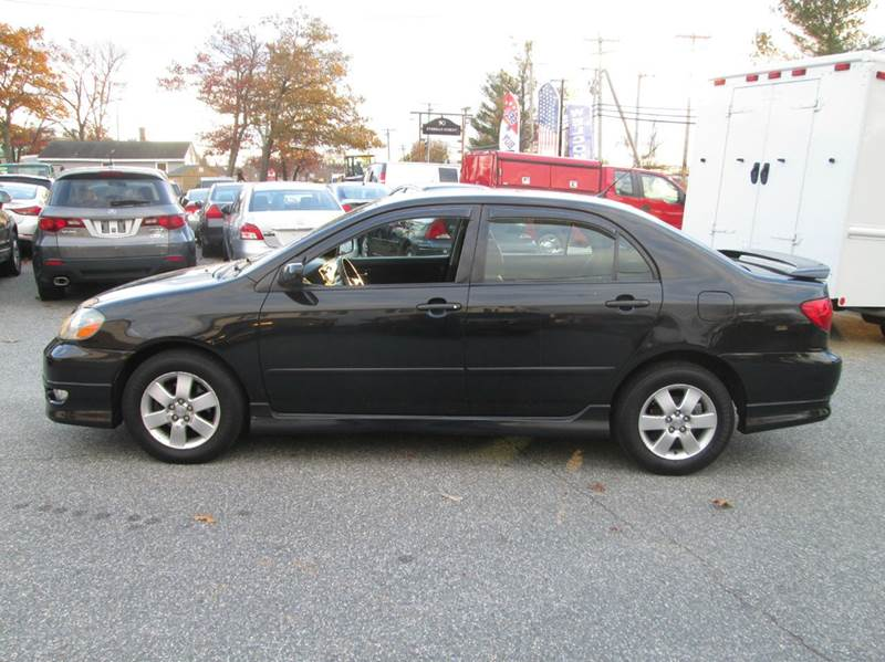2007 Toyota Corolla S 4dr Sedan (1.8L I4 4A)   Lowell MA