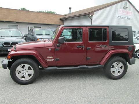 2008 Jeep Wrangler Unlimited for sale in Lowell, MA